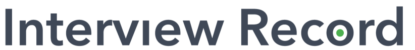 InterviewRecord_logo_kolor